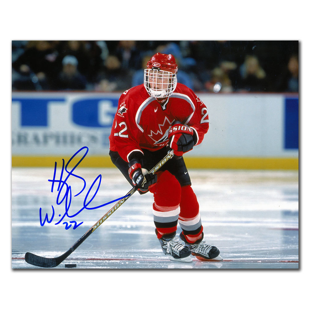Hayley Wickenheiser Team Canada 1998 OLYMPICS Autographed 8x10