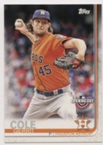 Photo of 2019 Topps Opening Day #73 Gerrit Cole