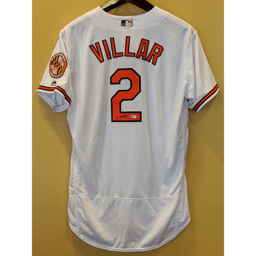 Photo of Jonathan Villar - Autographed Home Jersey