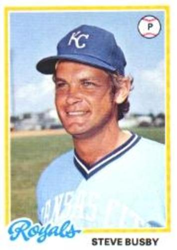 Photo of 1978 Topps #336 Steve Busby
