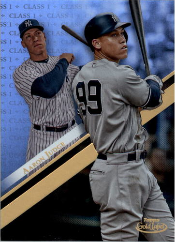 Photo of 2019 Topps Gold Label Class 1 #44 Aaron Judge