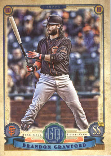 Photo of 2019 Topps Gypsy Queen #265 Brandon Crawford