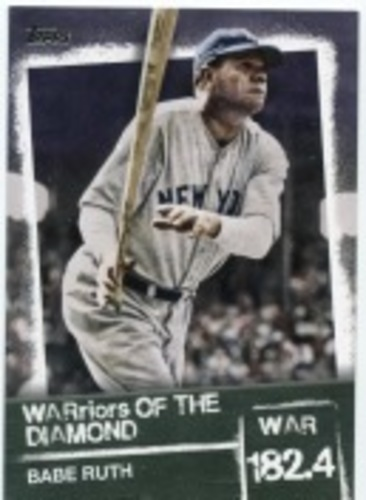 Photo of 2020 Topps Warriors of the Diamond #WOD1 Babe Ruth