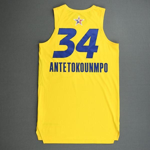 Giannis Antetokounmpo - Game-Worn 2021 NBA All-Star Jersey ...