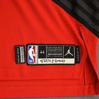 Anfernee Simons - Portland Trail Blazers - Game-Worn Statement Edition Jersey - 2021 NBA Playoffs