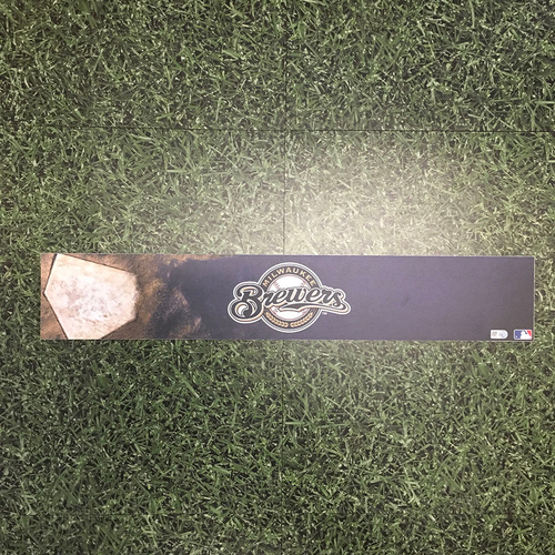 Photo of Milwaukee Brewers 2015 Team-Issued Locker Nameplate
