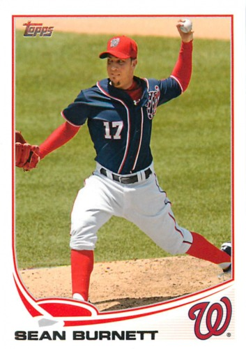 Photo of 2013 Topps #254 Sean Burnett