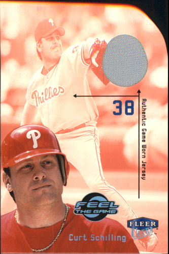 Photo of 2000 Ultra Feel the Game #14 Curt Schilling Jsy