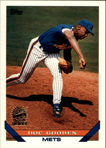 Photo of 1993 Topps Inaugural Marlins #640 Dwight Gooden