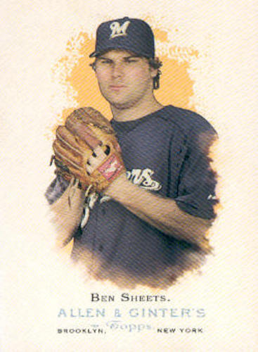 Photo of 2006 Topps Allen and Ginter #41 Ben Sheets
