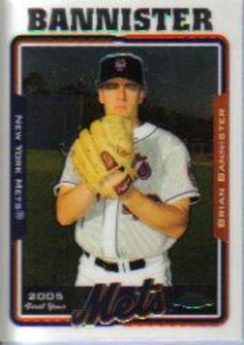 Photo of 2005 Topps Chrome Update #123 Brian Bannister FY RC