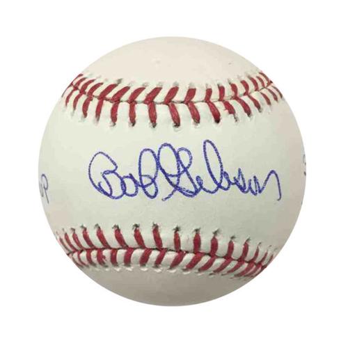 Cardinals Authentics: Bob Gibson 1967 MVP Autographed Baseball