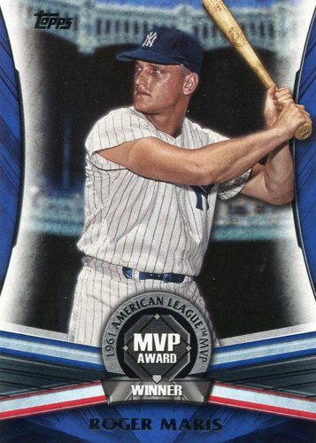 Photo of 2017 Topps Update MVP Award #MVP9 Roger Maris
