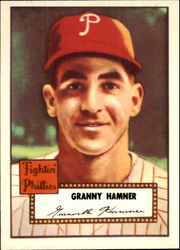 Photo of 1983 Topps 1952 Reprint #221 Granny Hamner