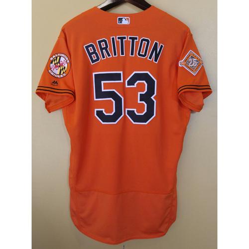 Zach Britton - Jersey: Game-Used