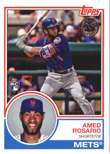 Photo of 2018 Topps '83 Topps #8350 Amed Rosario