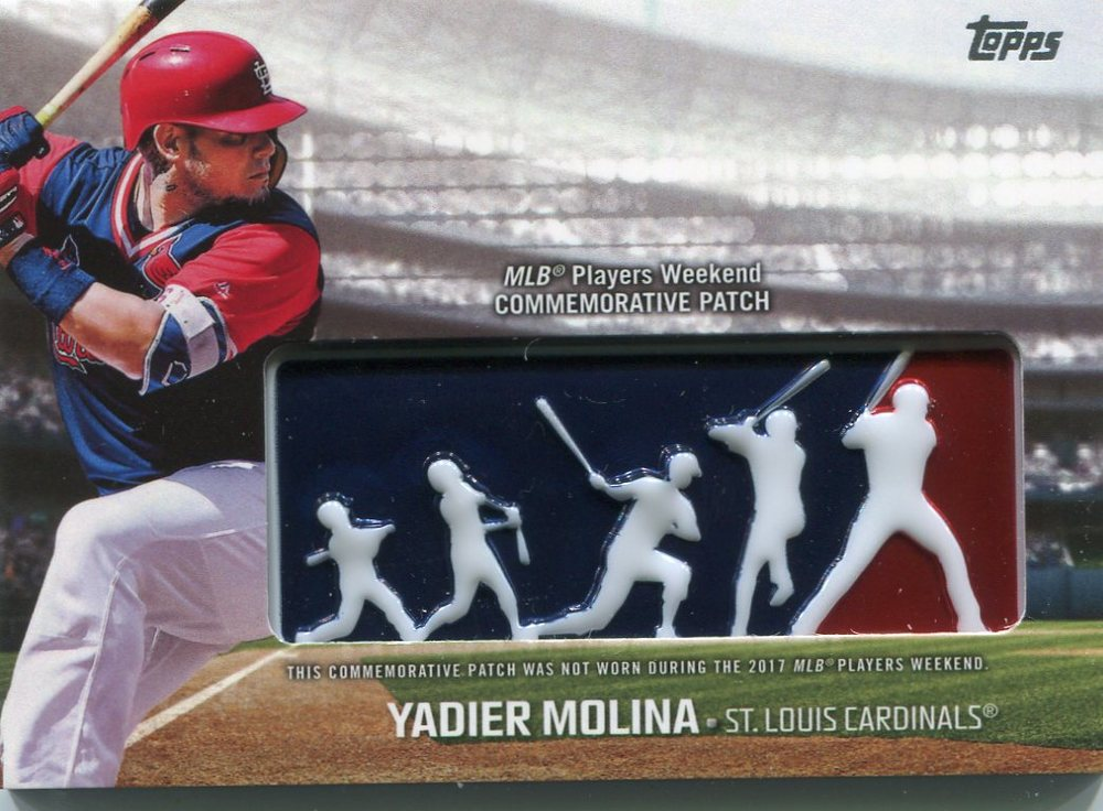 2018 Topps Players Weekend Patches #PWPYML Yadier Molina