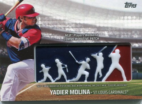 Photo of 2018 Topps Players Weekend Patches #PWPYML Yadier Molina