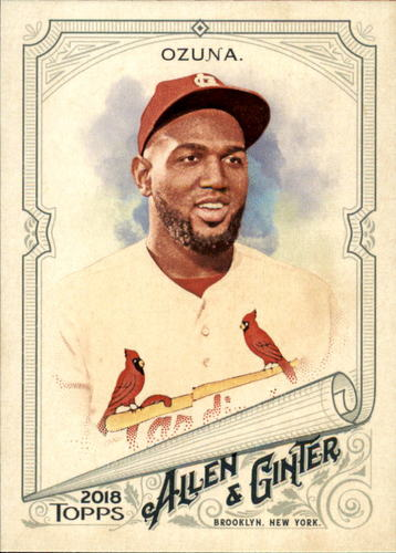 Photo of 2018 Topps Allen and Ginter #235 Marcell Ozuna