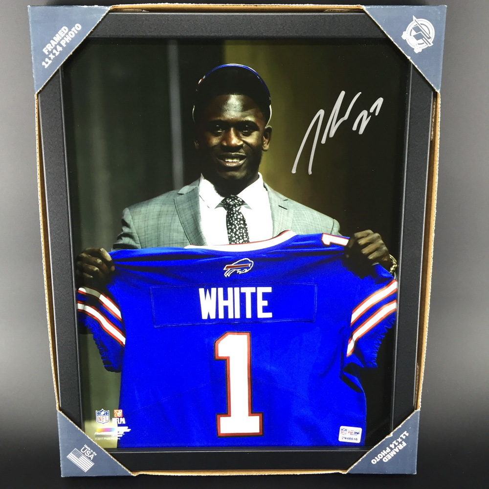 Bills - Tre'Davious White Signed 11X14 Framed Photo