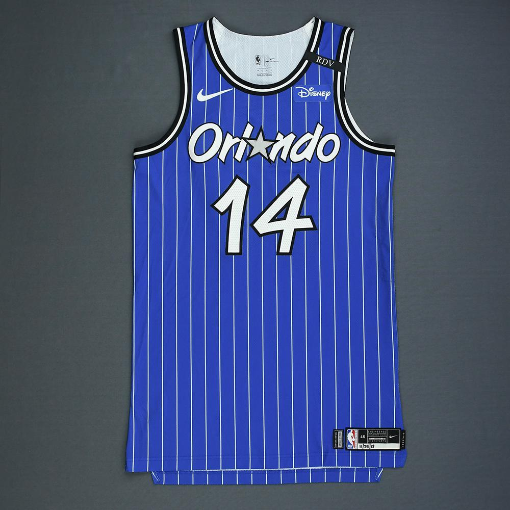 DJ Augustin - Orlando Magic - Game-Worn Classic Edition 1994-98 Alternate Road Jersey - Worn in 5 Games - 2018-19 Season