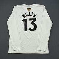 Malcolm Miller - Toronto Raptors - 2019 NBA Finals - Game-Issued Long-Sleeved Shooting Shirt