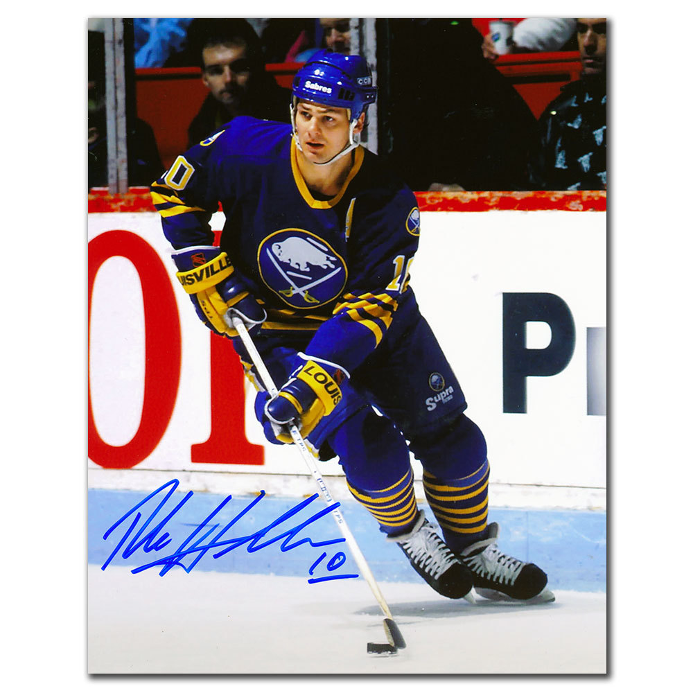 Dale Hawerchuk Buffalo Sabres PLAYMAKER Autographed 8x10
