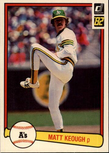 Photo of 1982 Donruss #71 Matt Keough