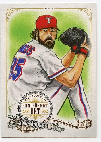 Photo of 2017 Topps Gypsy Queen Hand Drawn Art Reproductions #GQARCH2 Cole Hamels