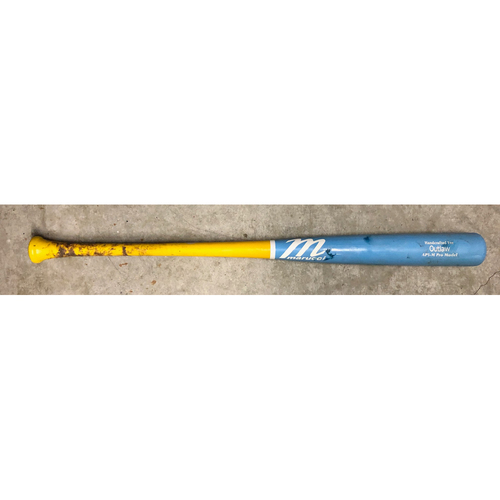 Photo of Game Used Players Weekend Bat: Kevin Kiermaier RBI double and groundout off Ty Blach - August 23, 2019 at BAL