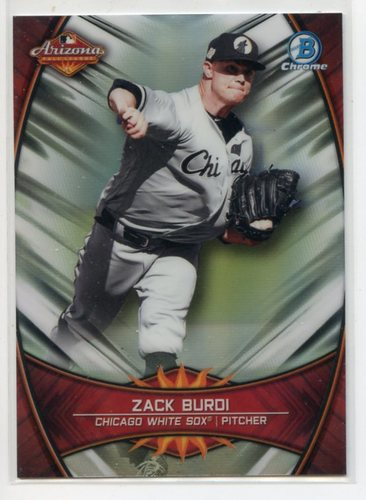 Photo of 2019 Bowman Chrome '18 AFL Fall Stars #AFLZB Zack Burdi