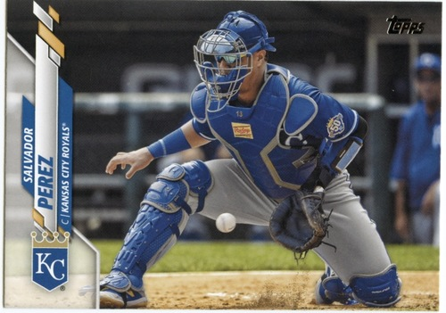 Photo of 2020 Topps #553 Salvador Perez