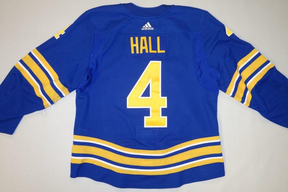 Taylor Hall 2020-21 Buffalo Sabres Set 1 Home Jersey