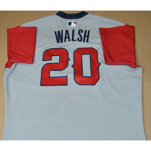 Photo of Game-used Jersey - 2021 Little League Classic - Los Angeles Angels vs. Cleveland Indians - 8/22/2021 - West, Jared Walsh #20
