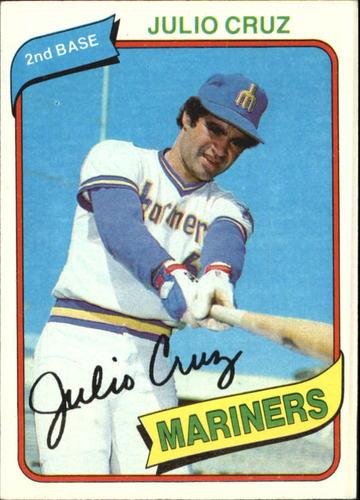 Photo of 1980 Topps #32 Julio Cruz DP