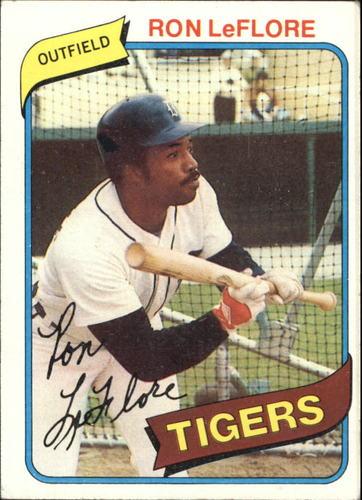 Photo of 1980 Topps #80 Ron LeFlore
