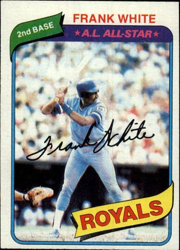 Photo of 1980 Topps #45 Frank White