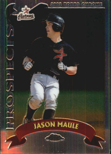 Photo of 2002 Topps Chrome #315 Jason Maule PROS RC