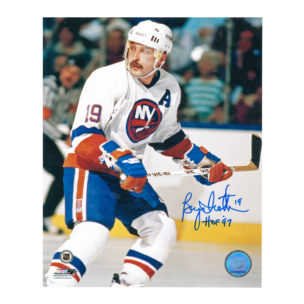 BRYAN TROTTIER Signed New York Islanders 8 X 10 Photo - 70006