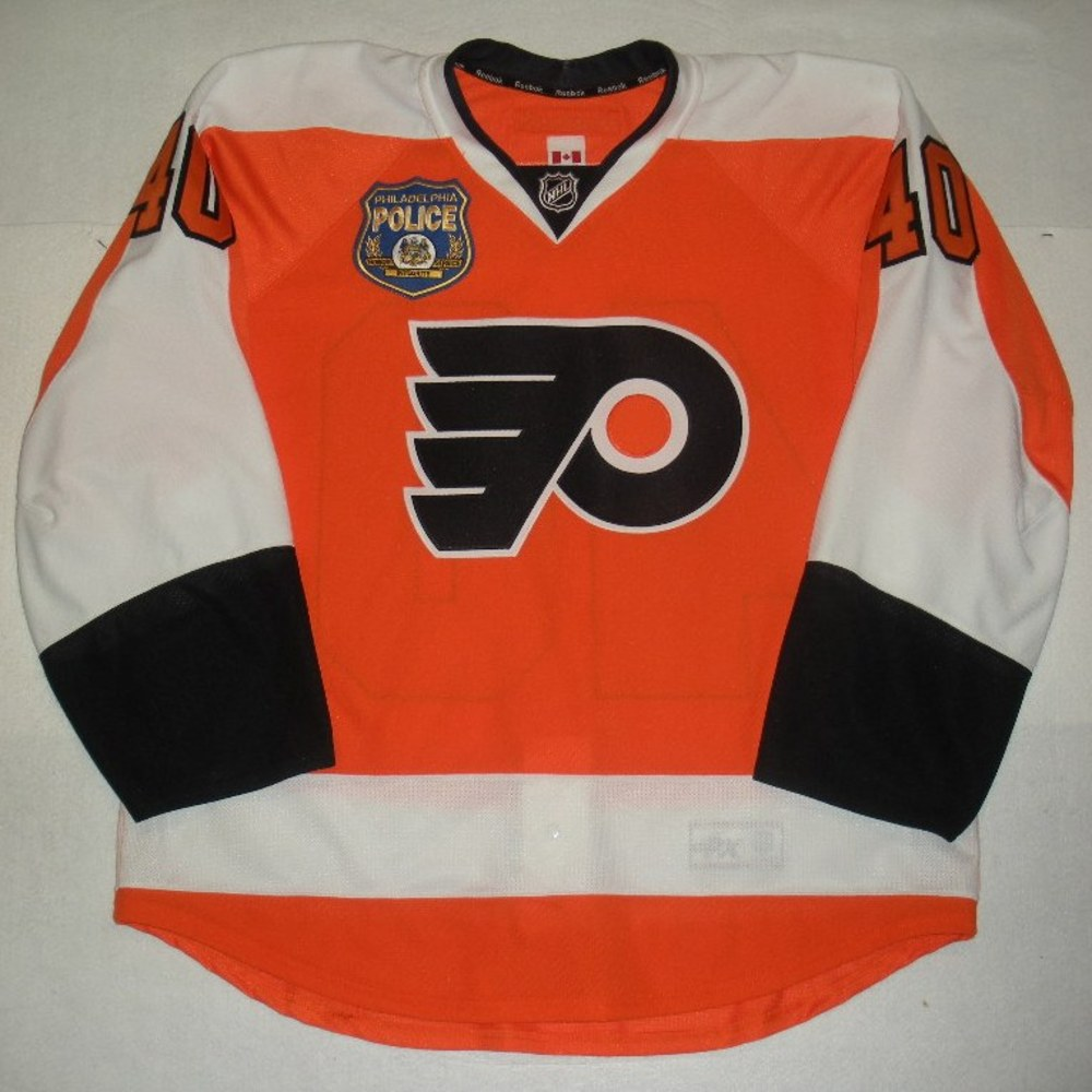 Vincent Lecavalier - Philadelphia Police Department and PAL Warmup-Issued Flyers Jersey - Autographed