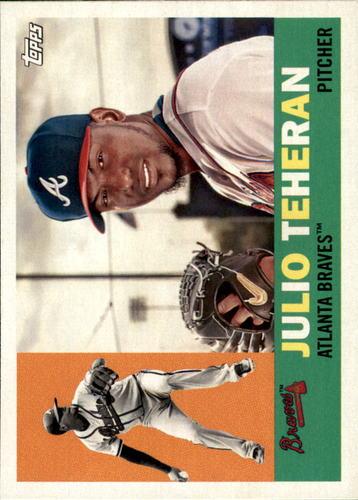 Photo of 2017 Topps Archives #44 Julio Teheran