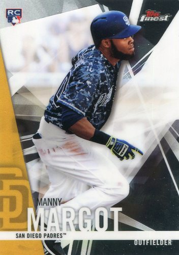Photo of 2017 Finest #55 Manny Margot RC