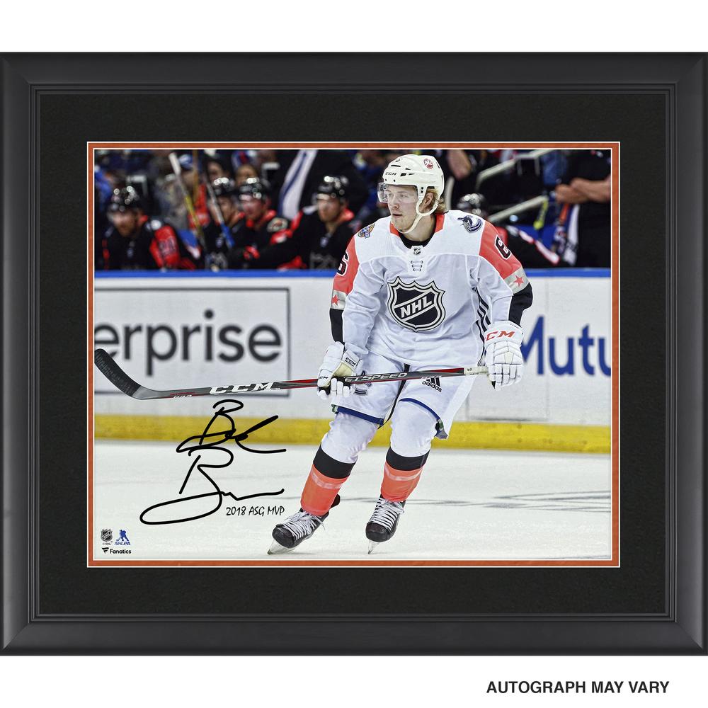 Brock Boeser Vancouver Canucks Framed Autographed 16