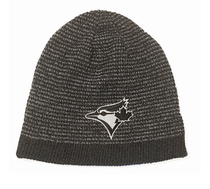 Toronto Blue Jays Basic Beanie Reversible Knit Cap by New Era