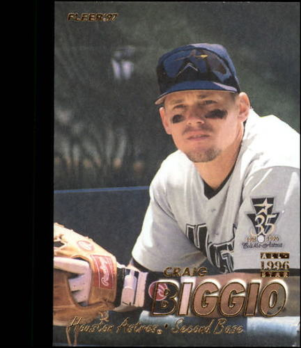 Photo of 1997 Fleer #342 Craig Biggio