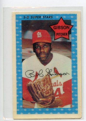 Photo of 1971 Kellogg's #51 Bob Gibson
