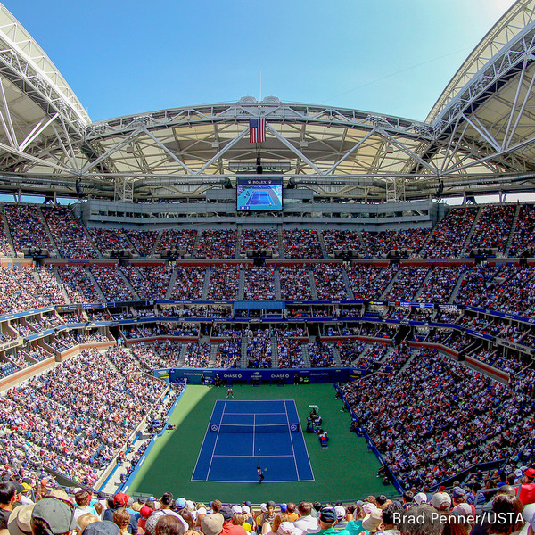 Clickable image to visit Package #2: Tickets to the US Open