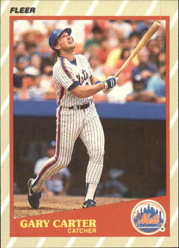 Photo of 1989 Fleer Superstars #7 Gary Carter