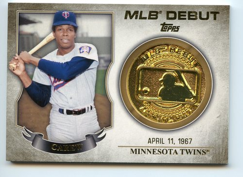 Photo of 2016 Topps MLB Debut Medallion #MLBDM229 Rod Carew