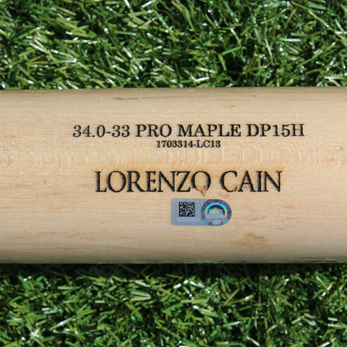 Photo of Team-Issued Bat: Lorenzo Cain